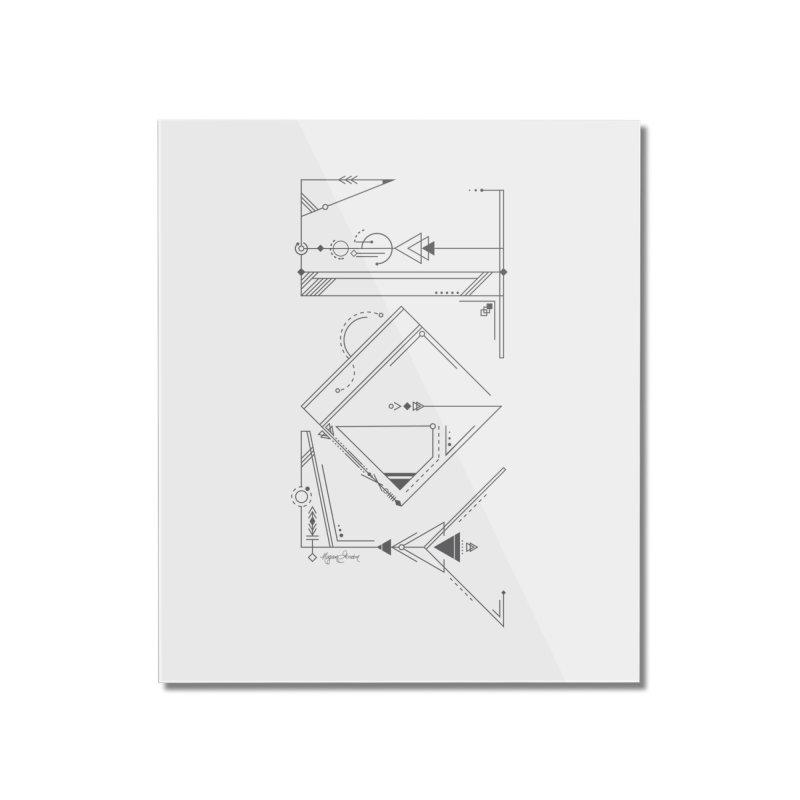 Connected to Joy Home Mounted Acrylic Print by megangordondotstudio