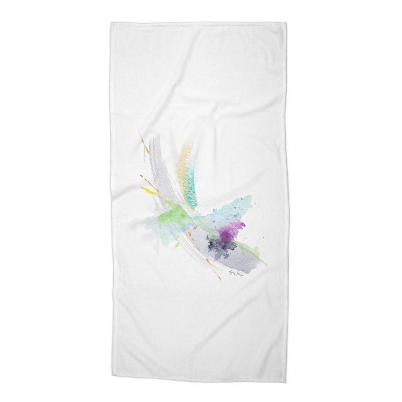 Living My Dream Accessories Beach Towel by megangordondotstudio
