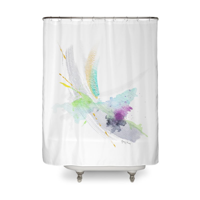 Living My Dream Home Shower Curtain by megangordondotstudio
