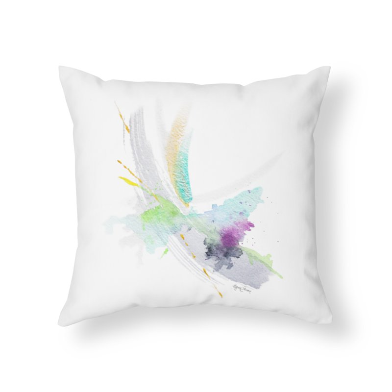 Living My Dream Home Throw Pillow by megangordondotstudio