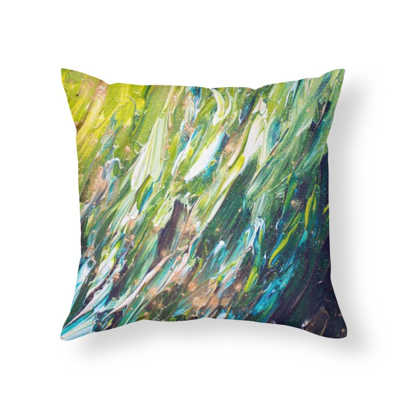 Jungle Joy // She The Roar Collection Home Throw Pillow by megangordondotstudio