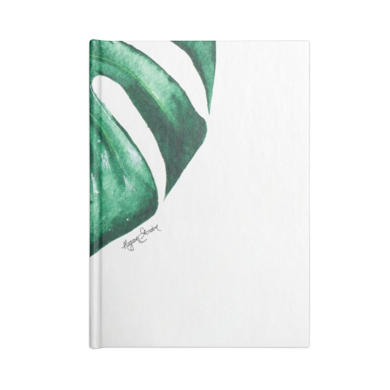 Monstera Leaf Love // She The Roar Collection Accessories Notebook by megangordondotstudio