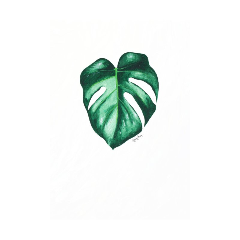 Monstera Leaf Love // She The Roar Collection by megangordondotstudio