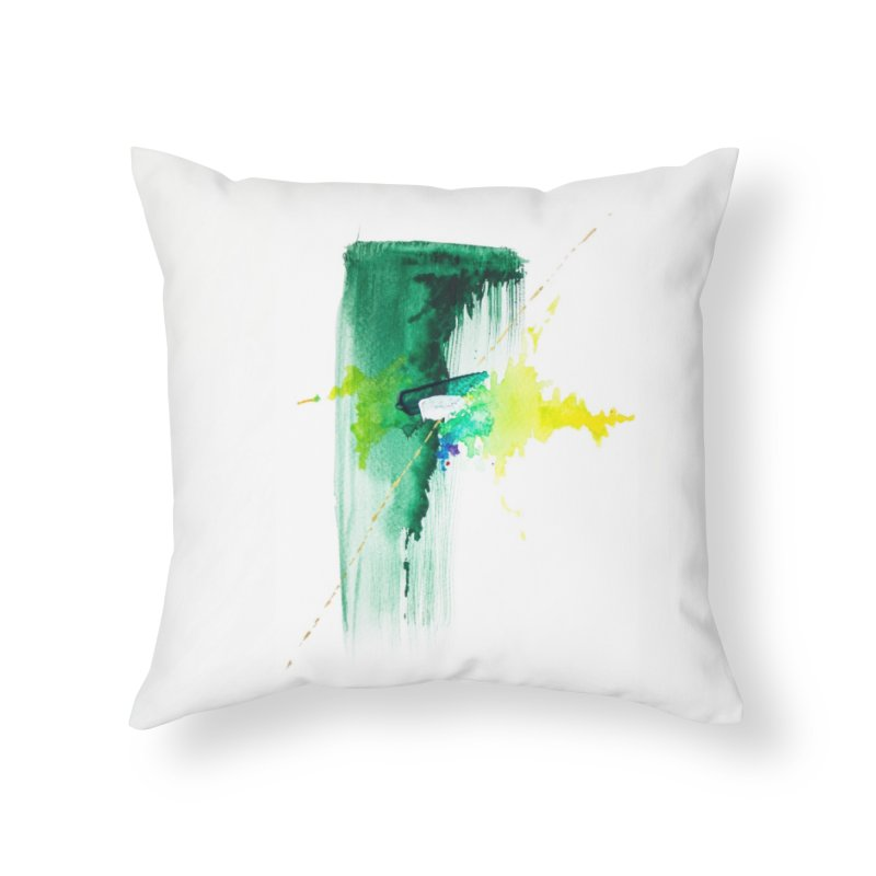 Waterfall Dreams // She The Roar Collection Home Throw Pillow by megangordondotstudio
