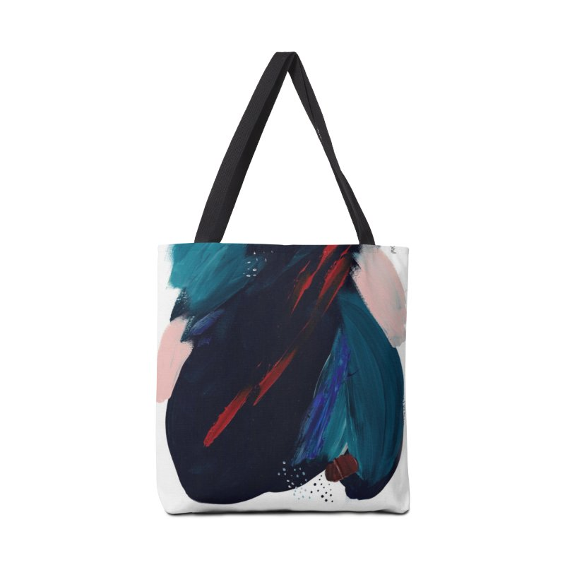 It's Where the Time Went Yesterday (Wildly Collection) Accessories Bag by Megan Krzmarzick Abstract Artist
