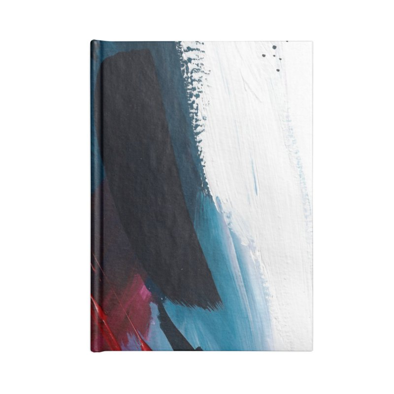 Reflections in the Swimming Pool During a Thunderstorm Accessories Blank Journal Notebook by Megan Krzmarzick Abstract Artist