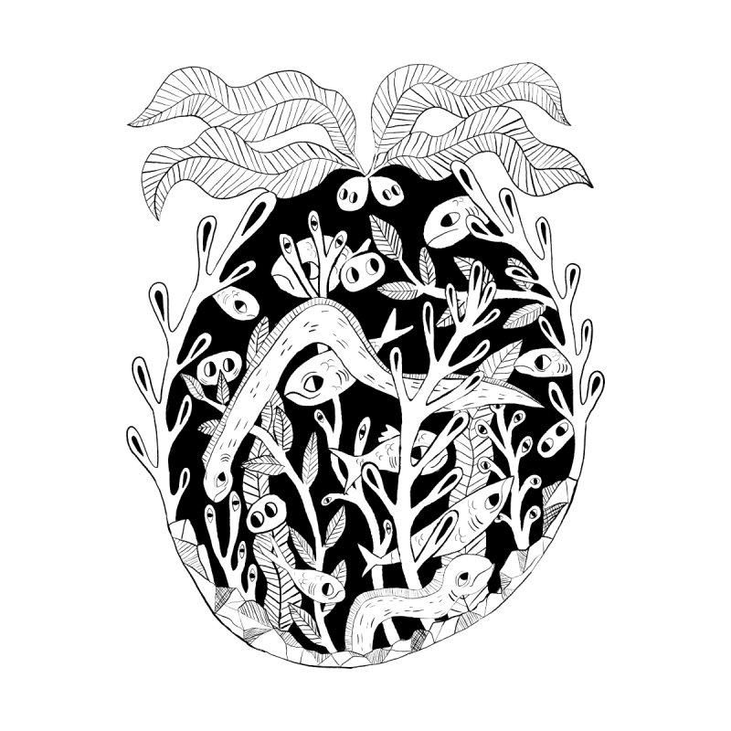 Sea Creature Feature by meganleef designs