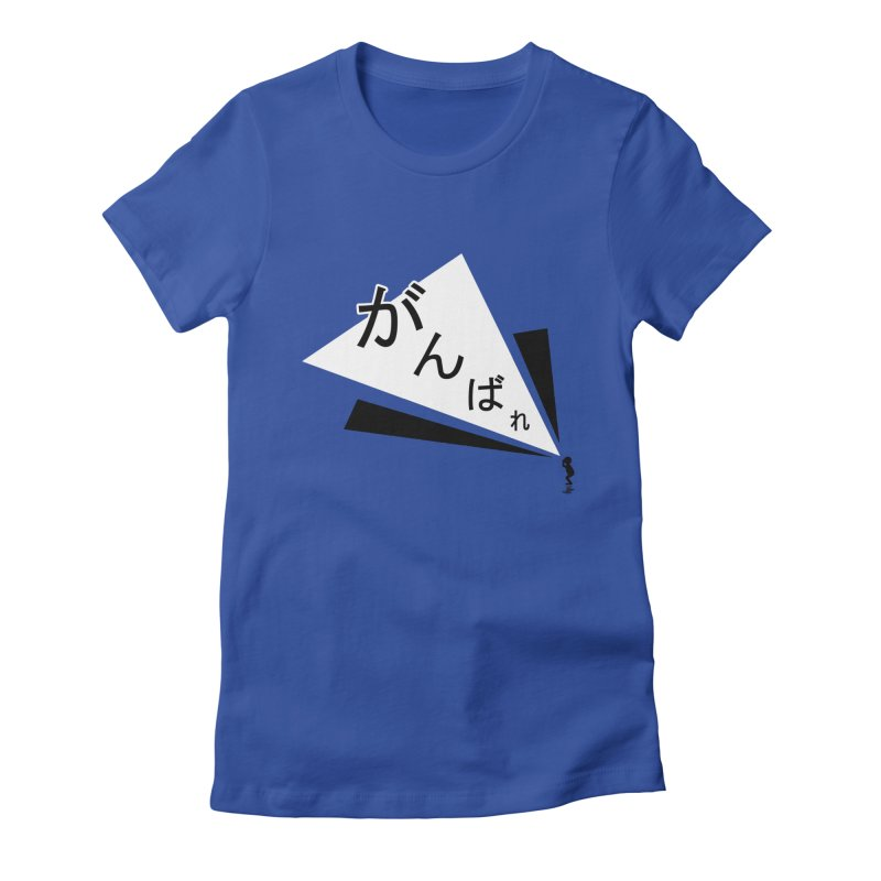 Lil Man Series - No.1 The Cheer Women's Fitted T-Shirt by megapop's Artist Shop