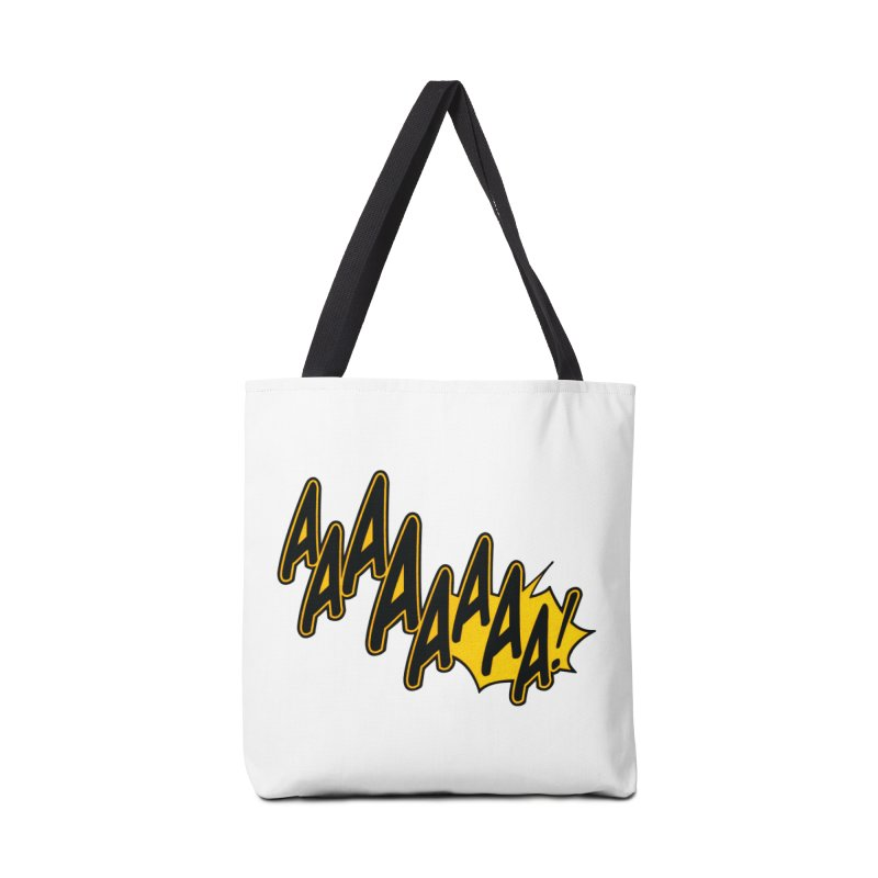 AAAAAAAA! Accessories Bag by megatrip's Artist Shop