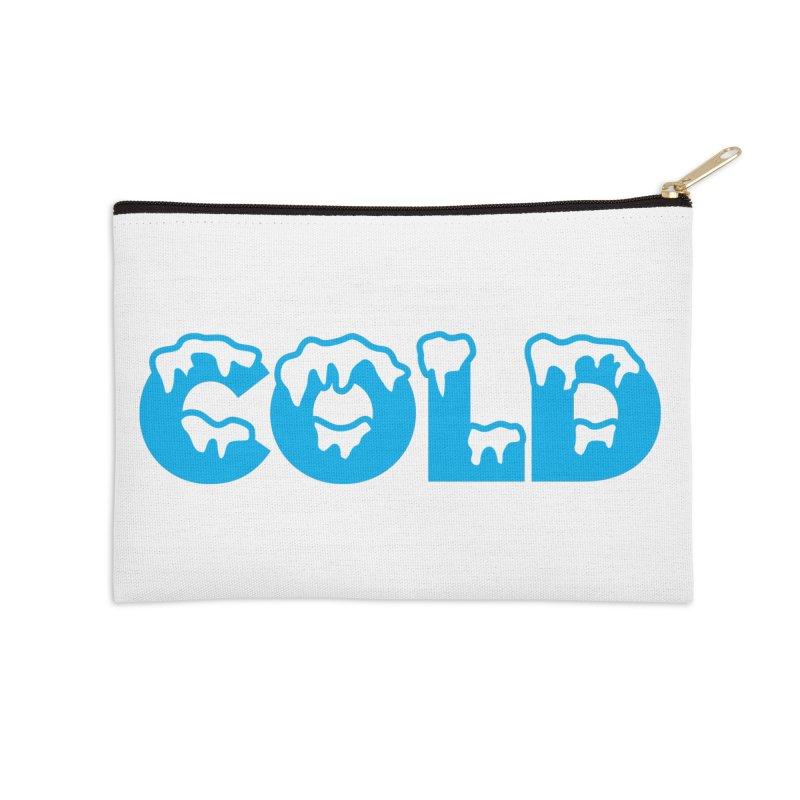 COLD Accessories Zip Pouch by megatrip's Artist Shop