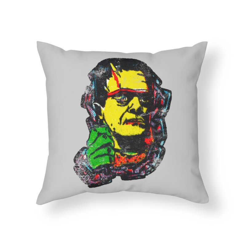1975 FRANK Home Throw Pillow by megatrip's Artist Shop