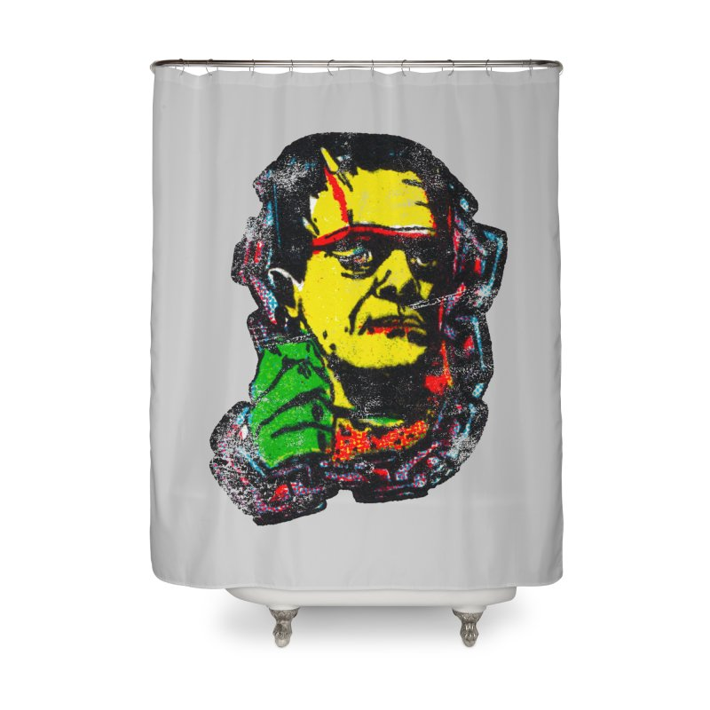 1975 FRANK Home Shower Curtain by megatrip's Artist Shop