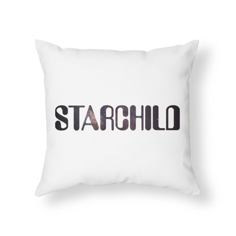 Starchild Home Throw Pillow by megatrip's Artist Shop