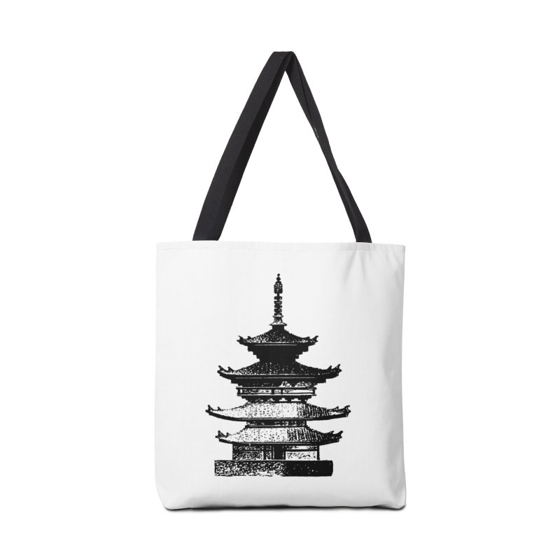 Pagoda Accessories Bag by megatrip's Artist Shop