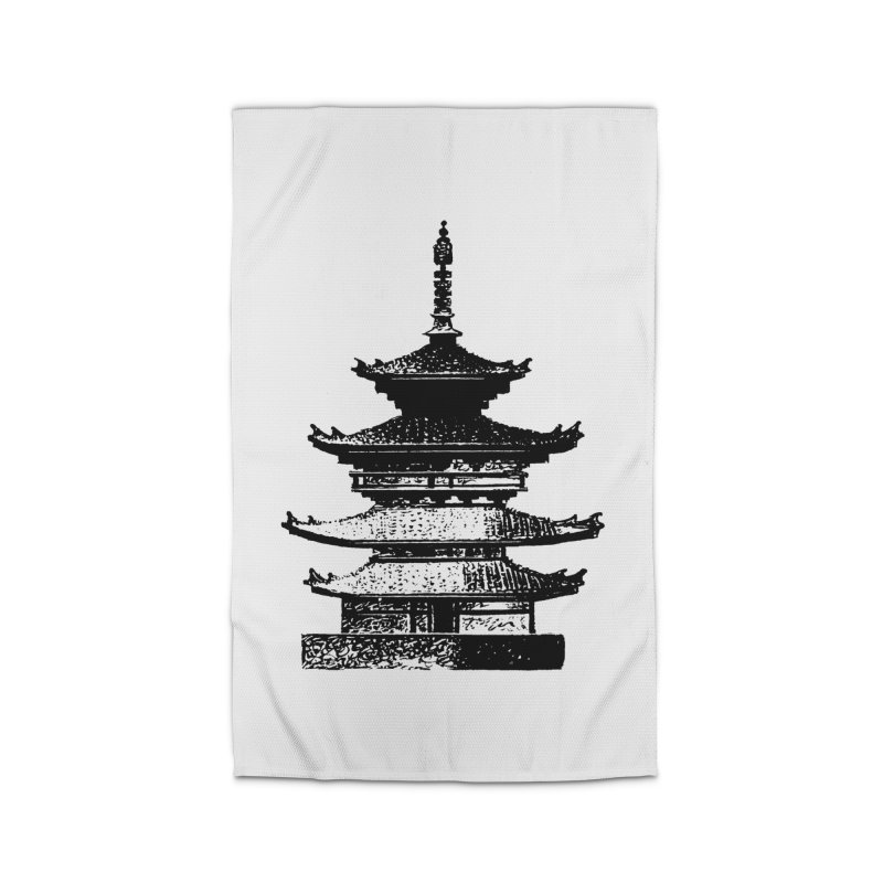 Pagoda Home Rug by megatrip's Artist Shop