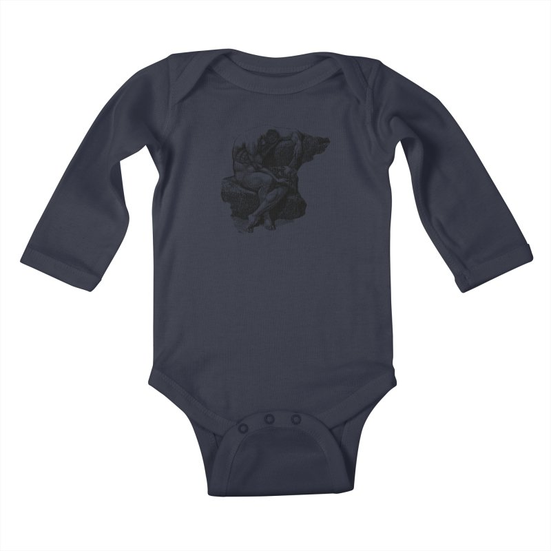 Headless Kids Baby Longsleeve Bodysuit by megatrip's Artist Shop