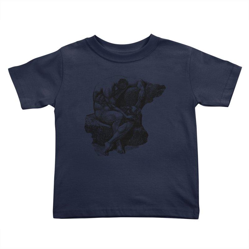 Headless Kids Toddler T-Shirt by megatrip's Artist Shop
