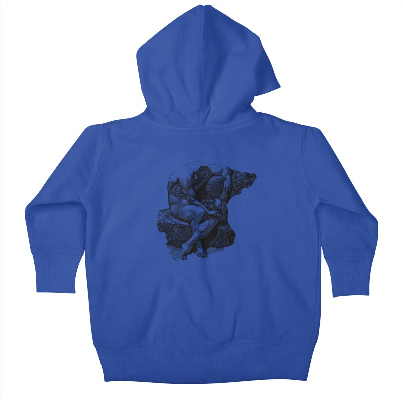 Headless Kids Baby Zip-Up Hoody by megatrip's Artist Shop