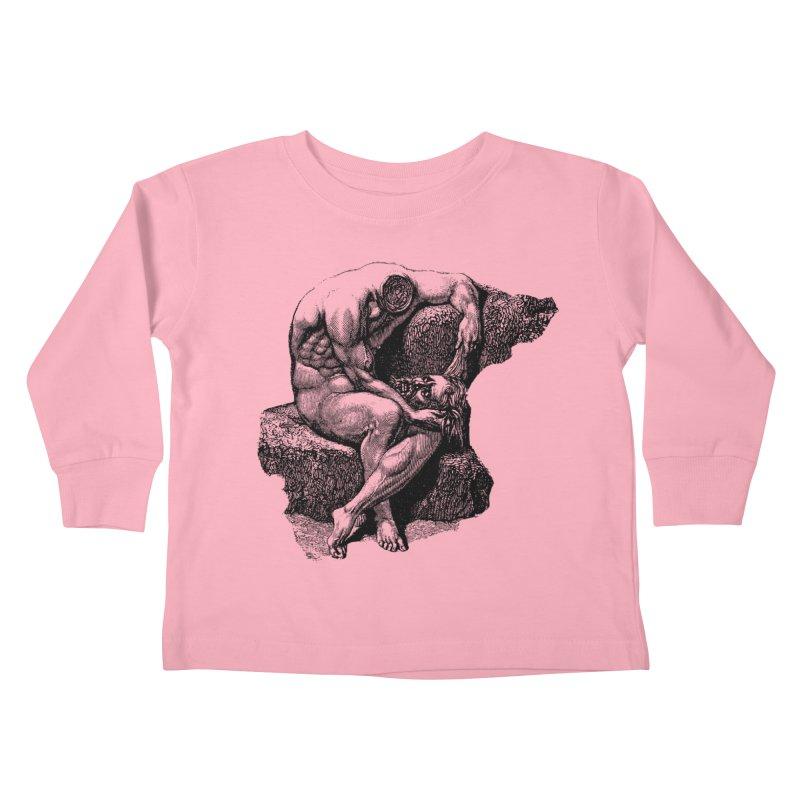 Headless Kids Toddler Longsleeve T-Shirt by megatrip's Artist Shop