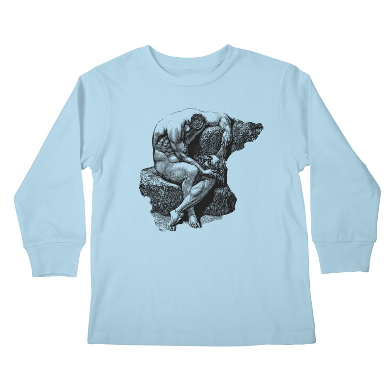 Headless Kids Longsleeve T-Shirt by megatrip's Artist Shop