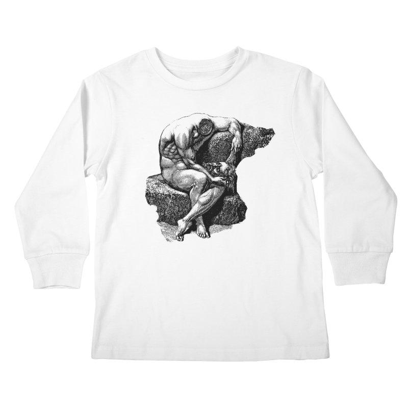 Headless Kids Longsleeve T-Shirt by megatrip's Artist Shop
