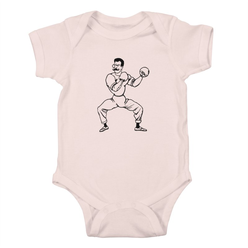 Put 'Em Up Kids Baby Bodysuit by megatrip's Artist Shop
