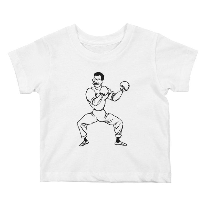 Put 'Em Up Kids Baby T-Shirt by megatrip's Artist Shop