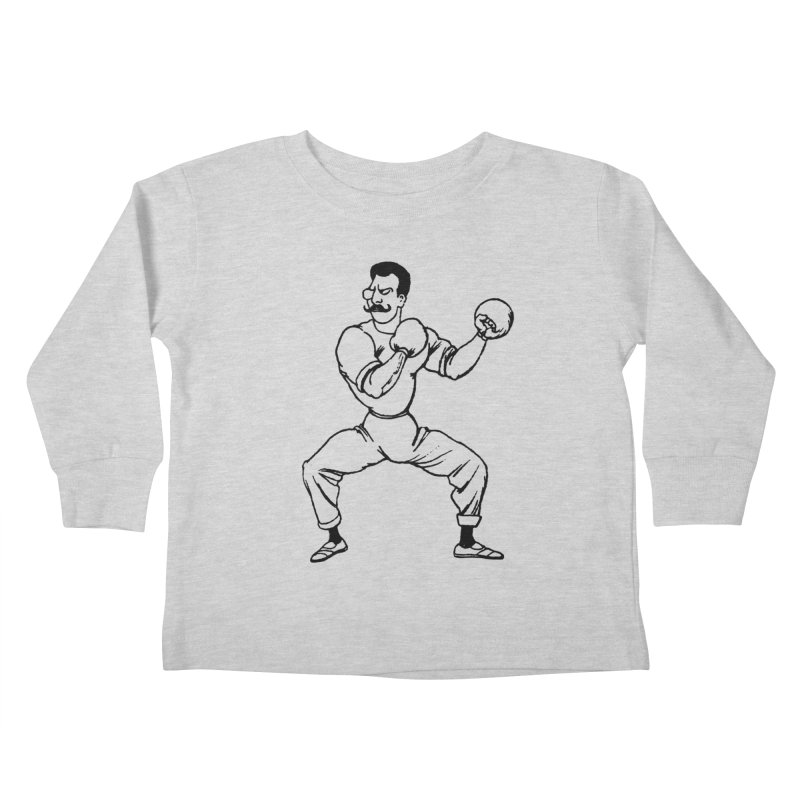 Put 'Em Up Kids Toddler Longsleeve T-Shirt by megatrip's Artist Shop