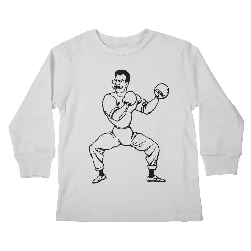 Put 'Em Up Kids Longsleeve T-Shirt by megatrip's Artist Shop