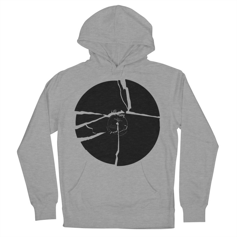 Broken Record Men's Pullover Hoody by megatrip's Artist Shop