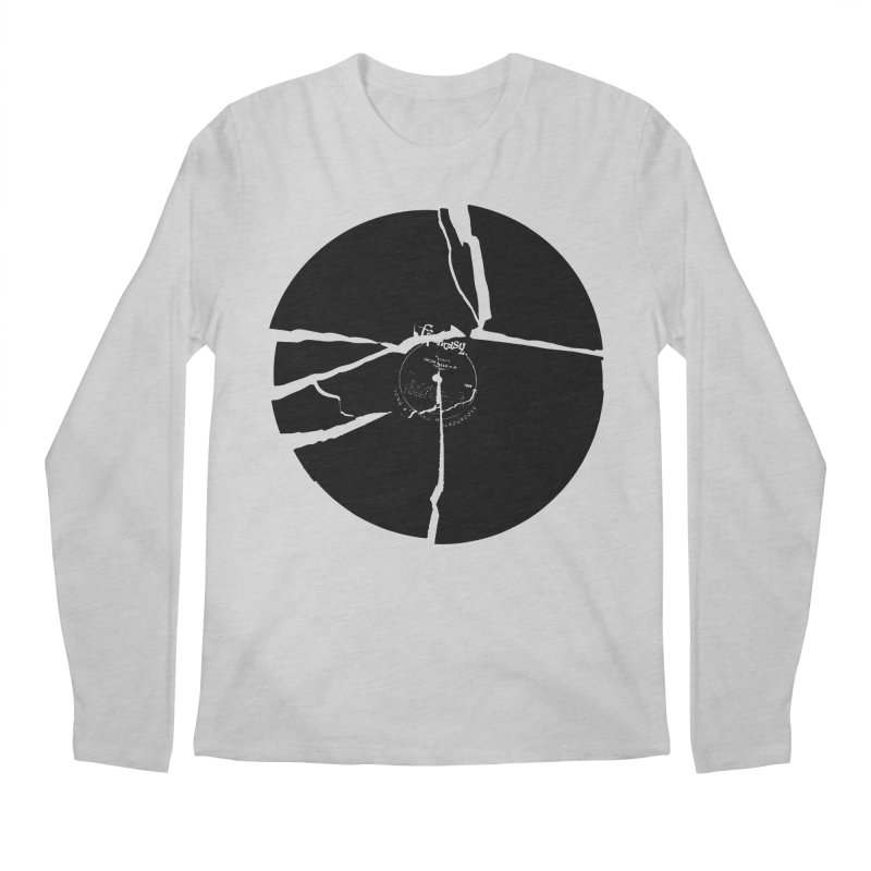 Broken Record Men's Longsleeve T-Shirt by megatrip's Artist Shop