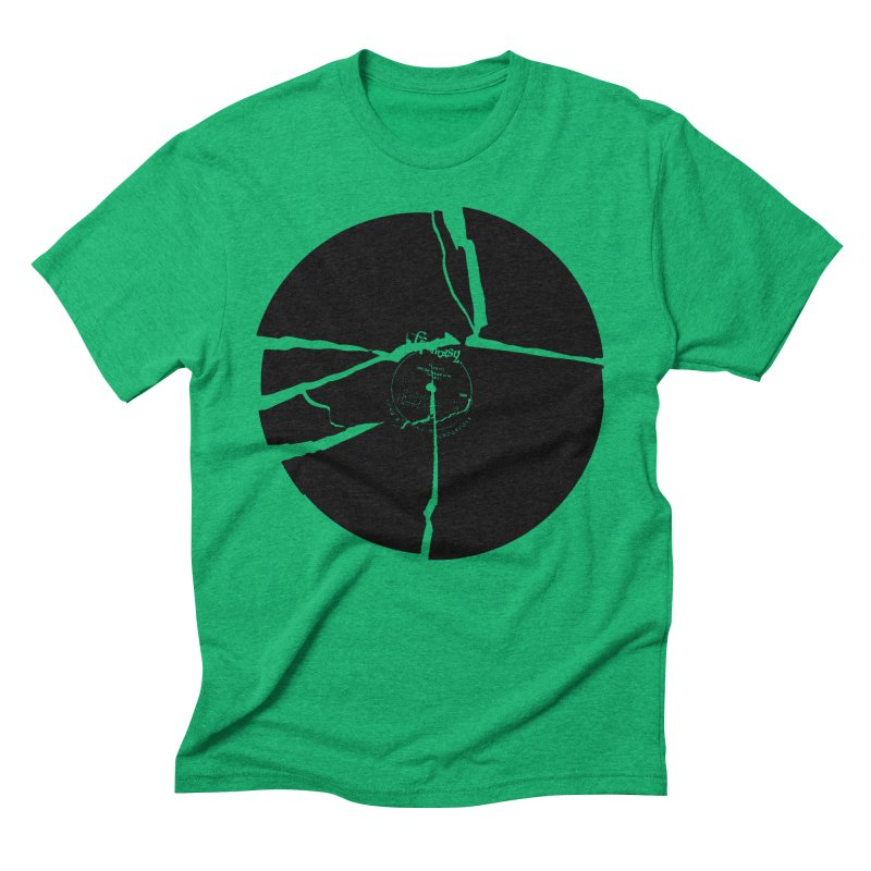 Broken Record Men's Triblend T-shirt by megatrip's Artist Shop