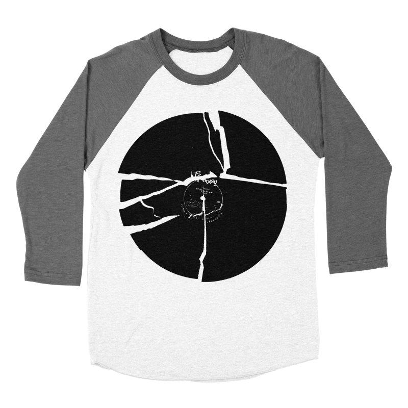Broken Record Women's Baseball Triblend T-Shirt by megatrip's Artist Shop