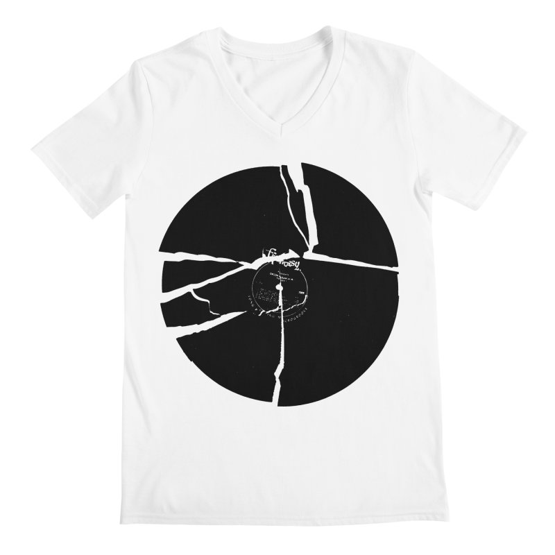 Broken Record Men's V-Neck by megatrip's Artist Shop