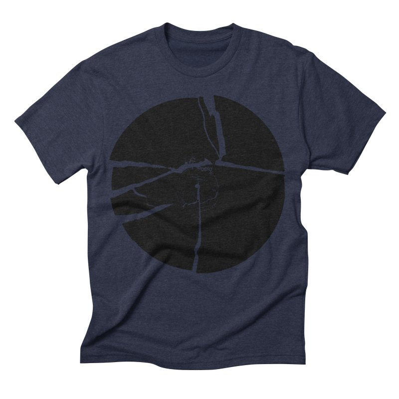 Broken Record Men's Triblend T-shirt by megatrip's Artist Shop