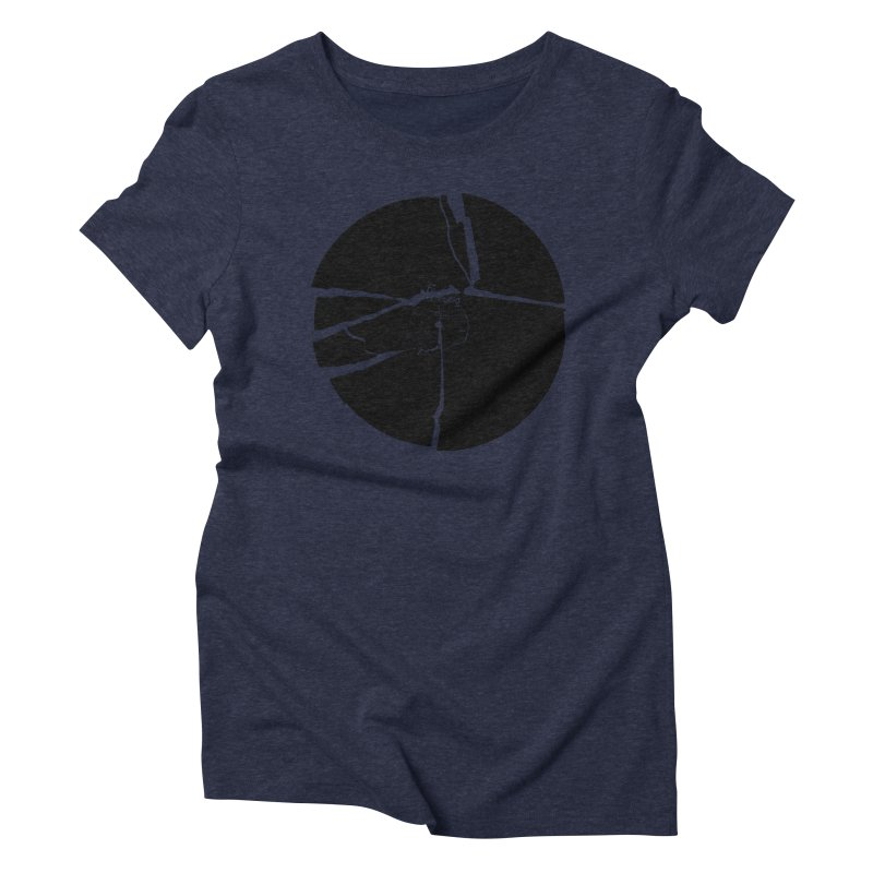Broken Record Women's Triblend T-Shirt by megatrip's Artist Shop