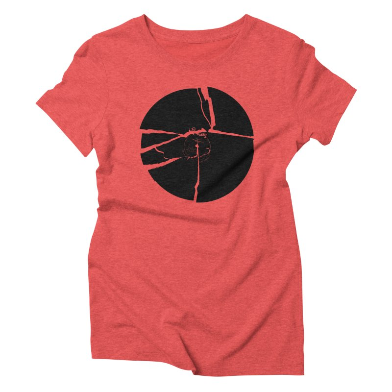 Broken Record Women's Triblend T-shirt by megatrip's Artist Shop