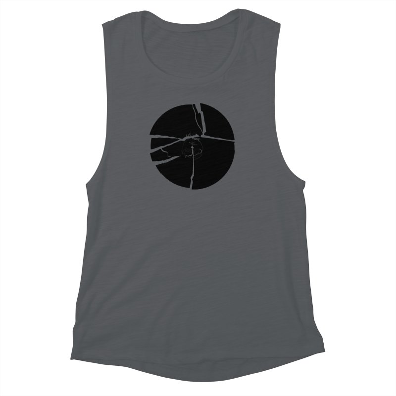 Broken Record Women's Muscle Tank by megatrip's Artist Shop