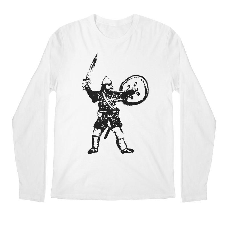 RPG Dwarf Attack Men's Longsleeve T-Shirt by megatrip's Artist Shop