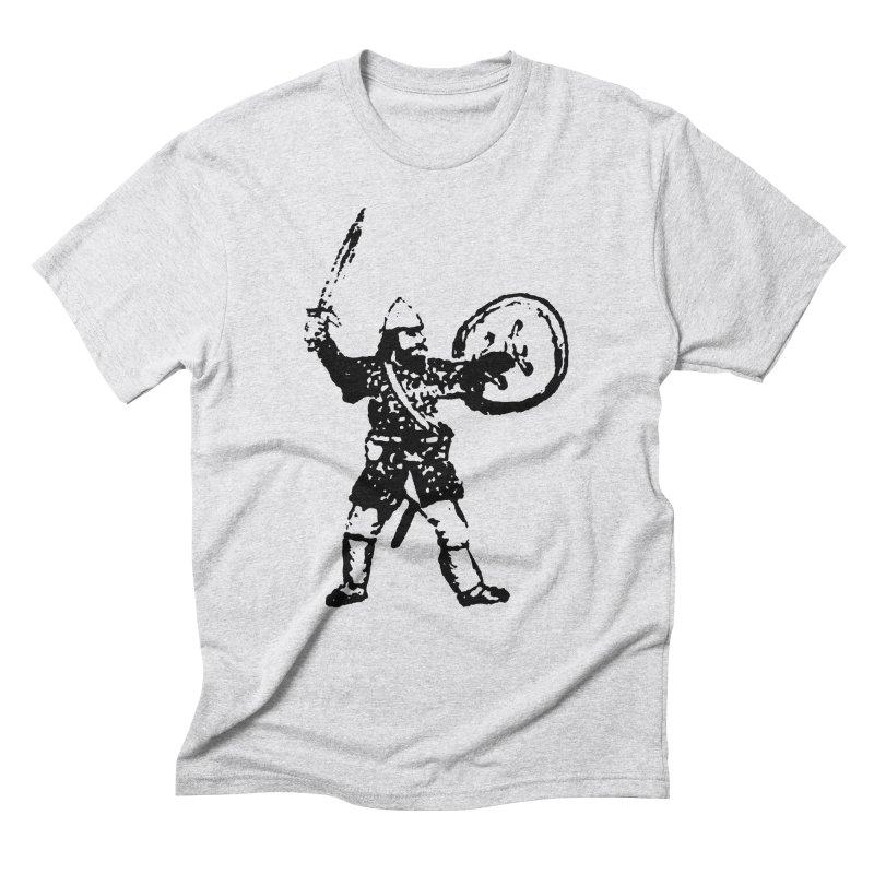 RPG Dwarf Attack Men's Triblend T-shirt by megatrip's Artist Shop