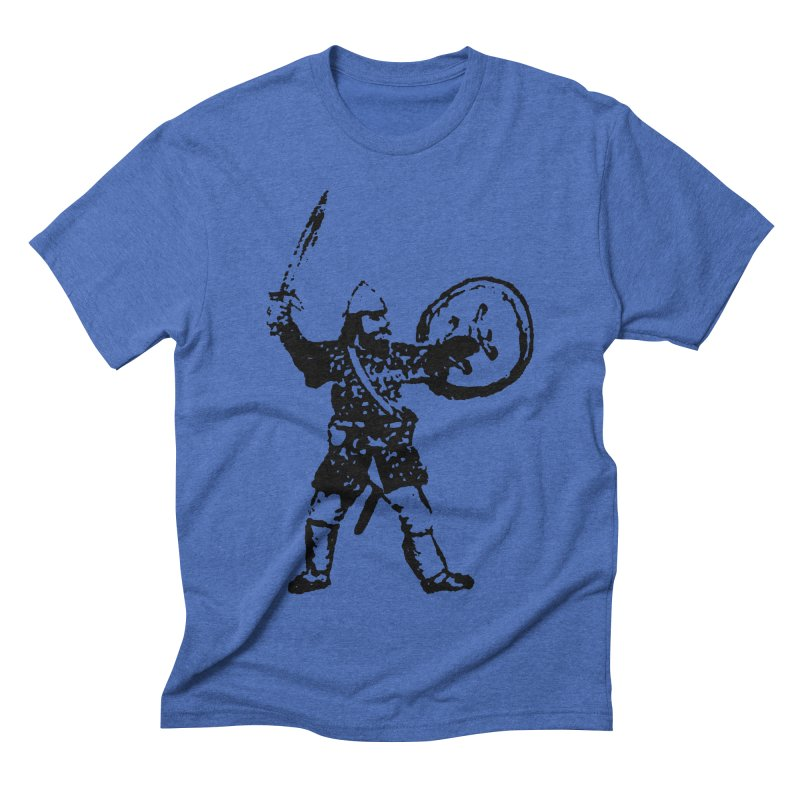 RPG Dwarf Attack Men's Triblend T-shirt by megatrip's Artist Shop