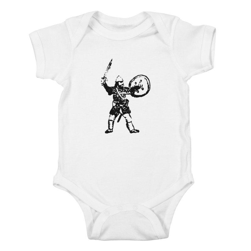 RPG Dwarf Attack Kids Baby Bodysuit by megatrip's Artist Shop