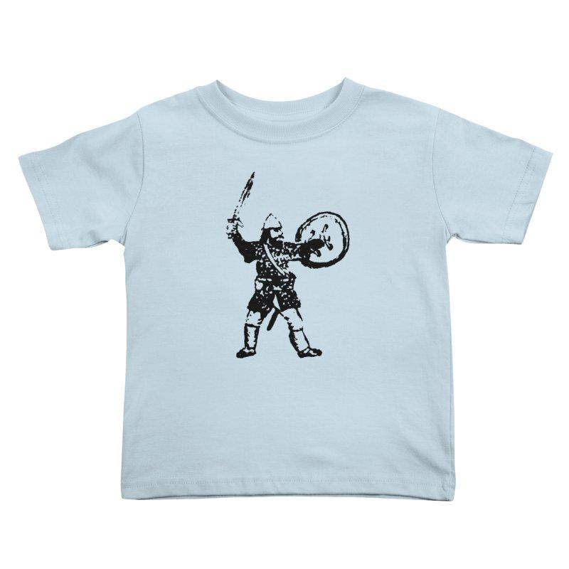 RPG Dwarf Attack Kids Toddler T-Shirt by megatrip's Artist Shop
