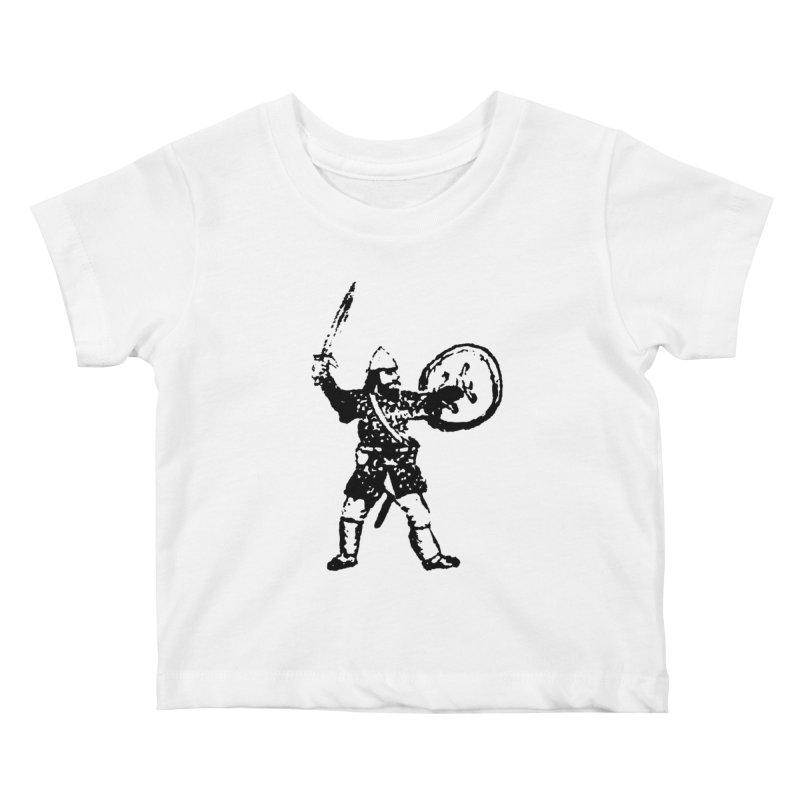 RPG Dwarf Attack Kids Baby T-Shirt by megatrip's Artist Shop