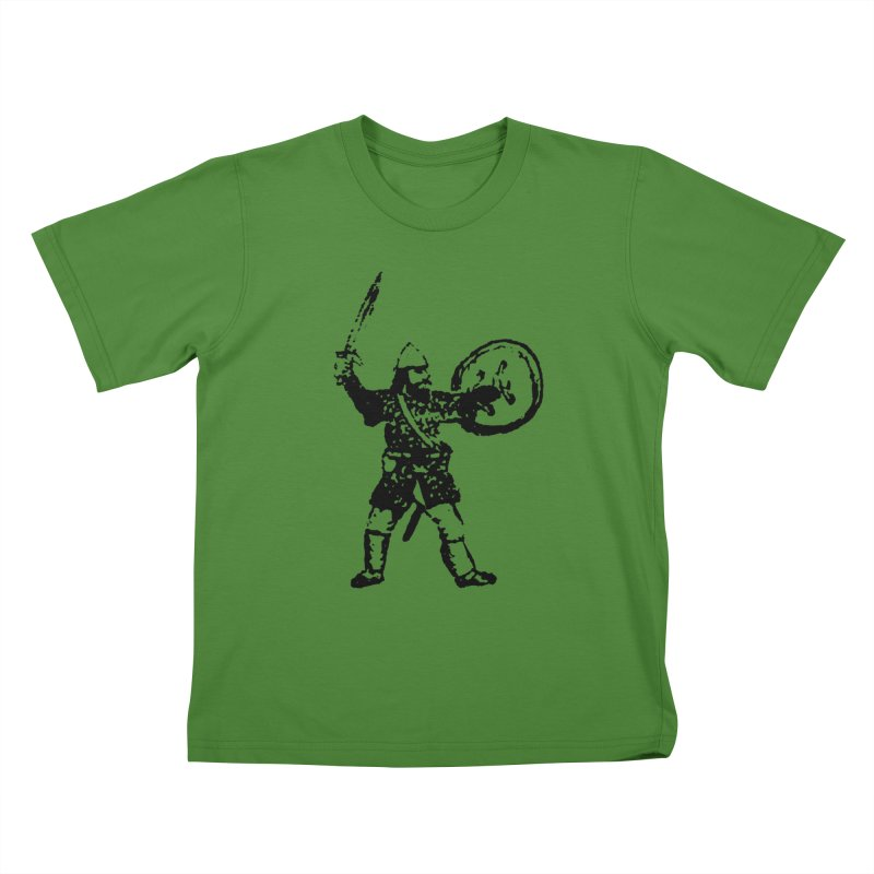 RPG Dwarf Attack Kids T-shirt by megatrip's Artist Shop