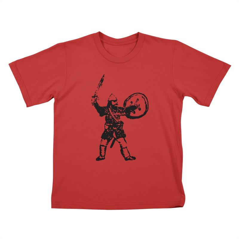 RPG Dwarf Attack Kids T-Shirt by megatrip's Artist Shop
