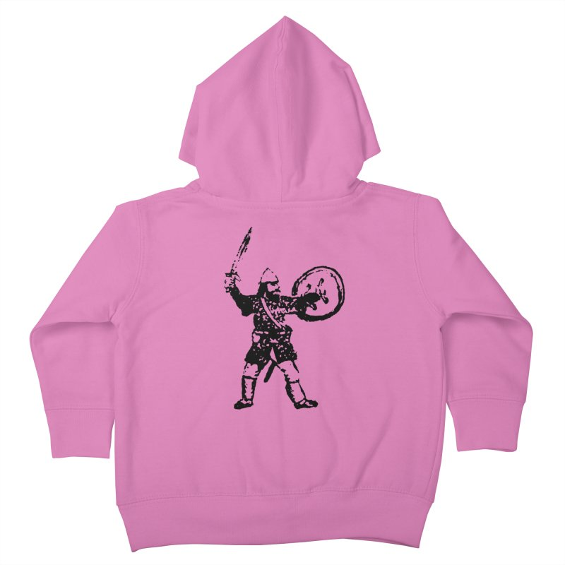 RPG Dwarf Attack Kids Toddler Zip-Up Hoody by megatrip's Artist Shop