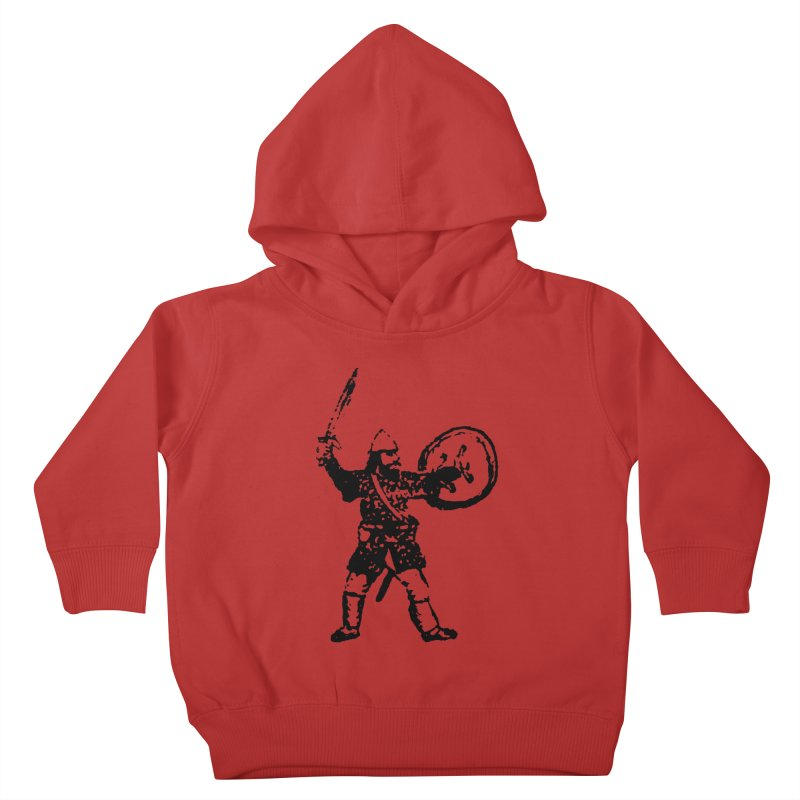 RPG Dwarf Attack Kids Toddler Pullover Hoody by megatrip's Artist Shop