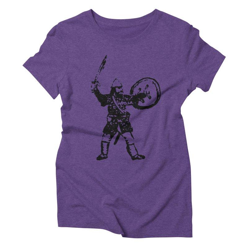 RPG Dwarf Attack Women's Triblend T-shirt by megatrip's Artist Shop