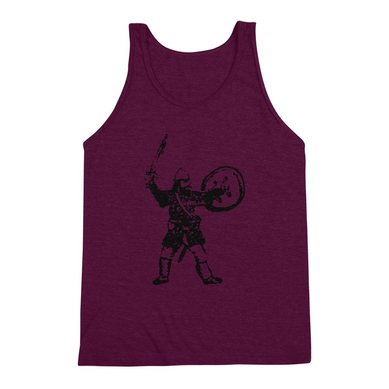 RPG Dwarf Attack Men's Triblend Tank by megatrip's Artist Shop